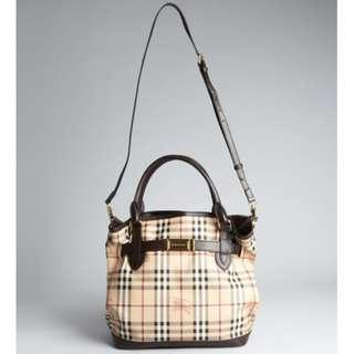 REPRICED: BRAND NEW Burberry Golderton Bridle Tote