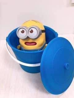 🚚 [免費送]購買賣場50元以上就送藍色可愛造型小水桶