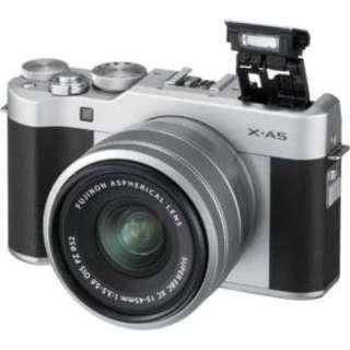Fujifilm XA5 Kit 15-45mm (Silver) Bisa Cicilan Tanpa Kartu Kredit