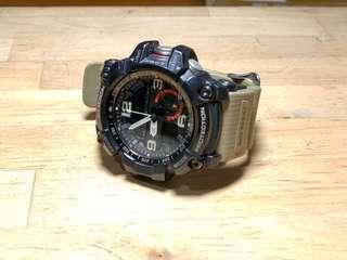 🚚 G-SHOCK 防塵泥雙傳感應器運動錶 GG-1000-1A5
