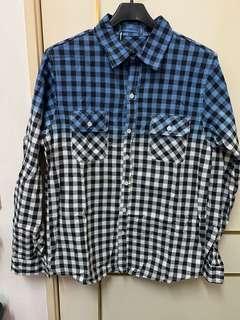 🚚 漸層藍色襯衫