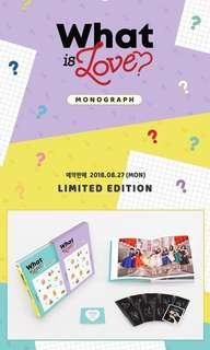 [WTB] Twice what is love monograph (book only)