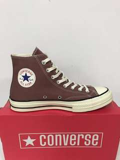 104807d70cfd CONVERSE 70s CT AS OX LEATHER HI BLACK   CAMEL