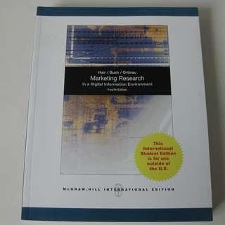 Marketing Research Book (4th edition)
