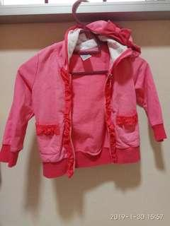 Baby Jacket with hat