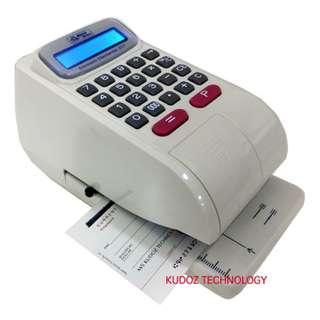 Electronic Check / Cheque Writer Printer (12 mths Waranty) ✔✔✔✔✔