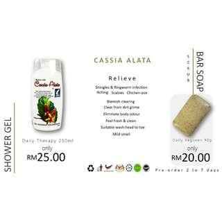 Mamasita Empire Bar Soap Cassia Alata