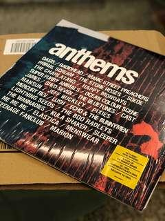 Anthems Alternative/Indie Compilation Double LP