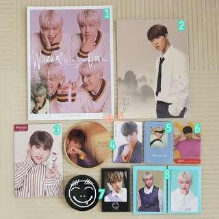 Wanna One Woojin Official Goods