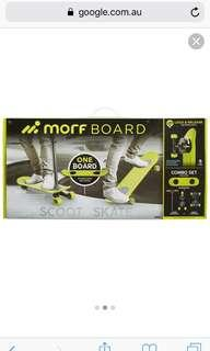 MOFF BOARD Skate and Scoot