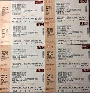鄭中基演唱會門票