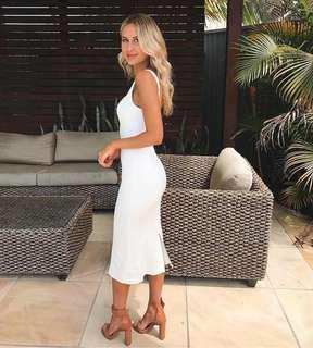 KOOKAI Jordan dress -white