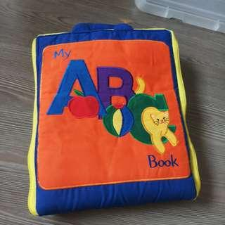🚚 Preowned my ABC Cloth Book