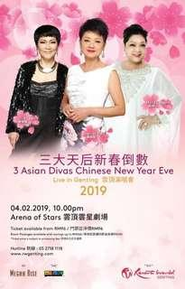3 Asian Divas Chinese New Year Eve concert