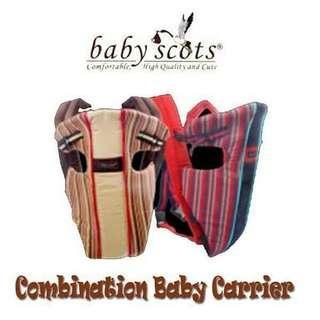 Gendongan Bayi Baby Scots ISG0010 / Baby Carrier Baby Scots Navy Blue / Gendongan Bayi Murah