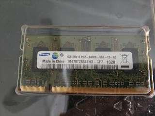 Laptop Ram 1GB