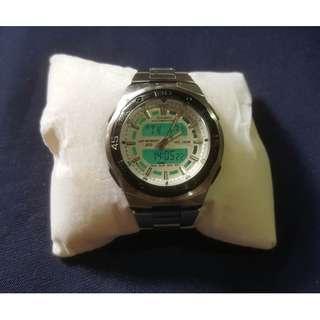 卡西歐 Casio 4396 石英指針數字腕錶