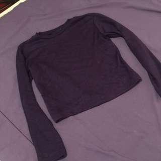 Semi crop top sweater