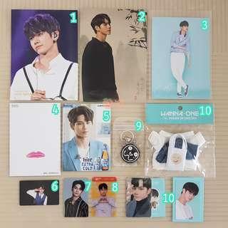 Wanna One Seongwu Official Goods