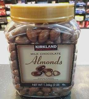 Kirkland almonds