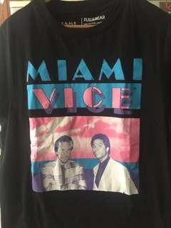NEW PULL & BEAR Miami Vice Tshirt #CNY2019
