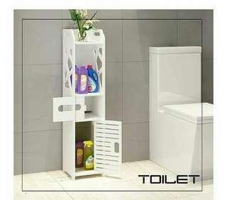 Dekorasi toilet / dekorasi unil / lemari sudut