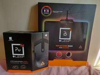 Brand new Pu94 Gaming Mouse & Precision Mouse Pad