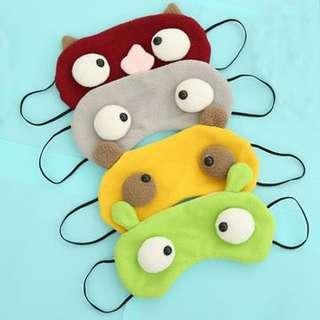 婚後物資 全新眼罩5個