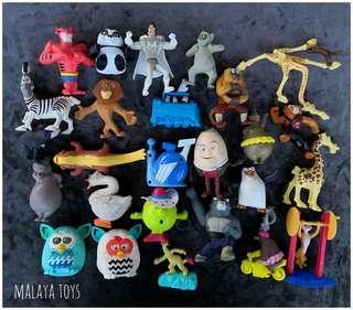 Rare Toys Madagascar / Kungfu Panda / More Figures.