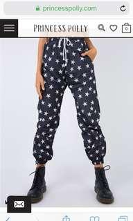 REDUCED Star trackpants
