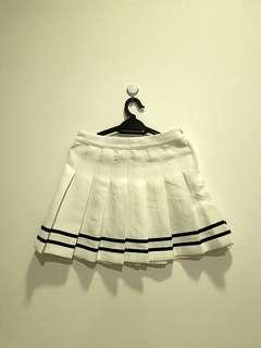 white tennis skirt (preloved) #GayaRaya