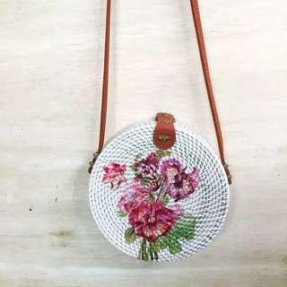 Rattan Bag Flower A