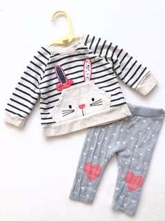 Early Days Baby Girl Top Pants Set 0-3 months