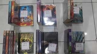 Preloved Novels & Comics