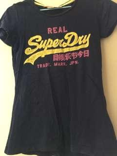 T Shirt Superdry Tee m size