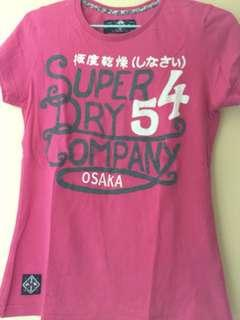 Superdry Tee m size