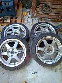 Sport Rims Volks Racing LE37 Made in Japan