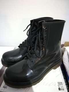 Faux Doc Martin boots
