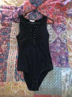 Supre black bodysuit