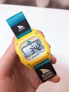 🚚 Freestyle Shark 衝浪 防水手錶 藍黃 經典配色 美國購買