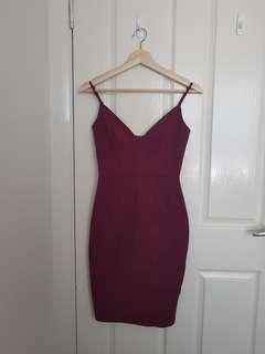 [NEW] Maroon Dress in Small