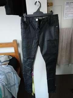 Cotton On Faux Leather Pants