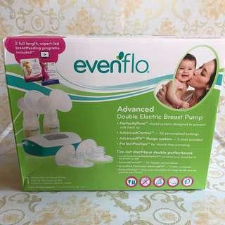 AVAILABLE Evenflo Advanced Double Electric Breastpump Can Be Portable Use Batteries