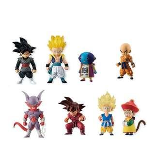 全新8盒 食玩 龍珠 Dragon Ball ADVERGE EX Child GT 1 2 3 4 5 9 邪魔 孫悟空 全王 界王拳 悟天格斯 孫悟飯 邪念波 無閑 小童 超級 撒亞人