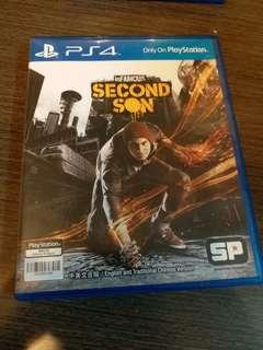 PS4 Infamous Second Son 中/Eng
