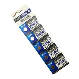日本品牌水銀電池 maxell SR920SW電池(4卡20入)