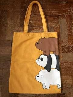 WeBareBears Tote Bag