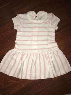dress pink stripes