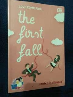 Novel Jeanice Nathania - The First Fall #CNY2019