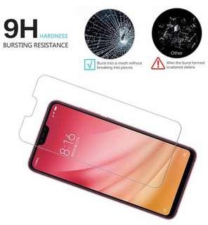 Xiaomi Mi 8 Lite 小米8 Lite 透明鋼化防爆玻璃 保護貼 9H Hardness HD Clear Tempered Glass Screen Protector (包除塵淸㓗套裝)(Clearing Set Included)